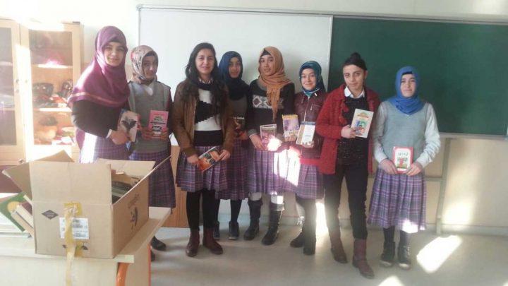 Iğdır Nene Hatun Mesleki ve Teknik Anadolu Lisesi, Kitap Bağışı