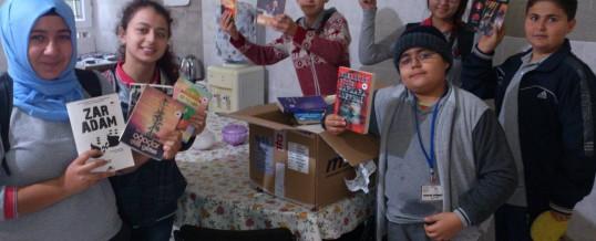 Aydın Germencik Ortaklar Adabelen Ortaokulu Kitap Bağışı