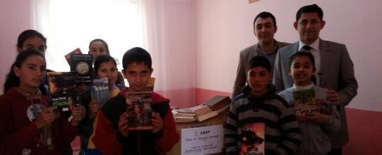 Adana Sarıçam Kürkçüler Ortaokulu Kitap Bağışı