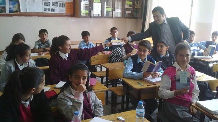 Bitlis Adilcevaz Şehit Mehmet Ali Erçetin Ortaokulu Kitap Bağışı