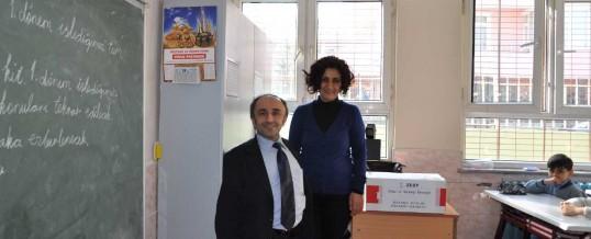 İstanbul Avcılar Firuzköy İlkokulu Kitap Bağışı