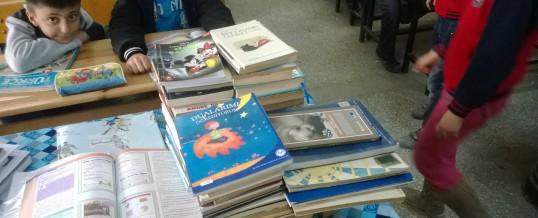 Malatya Battalgazi Hatunsuyu Kasabası Çiçek ilkokulu Kitap Bağışı