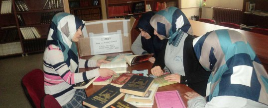 Rize Çayeli Anadolu İmam Hatip Lisesi Kitap Bağışı