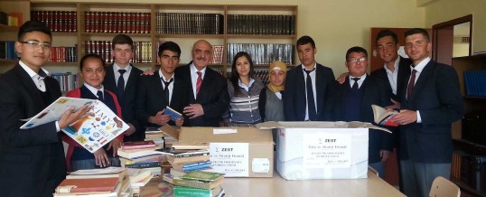 Ankara Bala Afşar Çok Programlı Anadolu Lisesi Kitap Bağışı