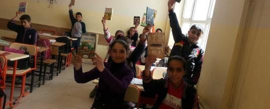 Ağrı Patnos İMKB Ortaokulu Kitap Bağışı