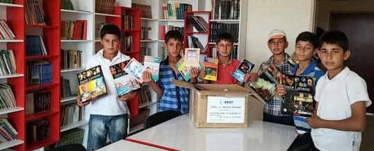 Şanlıurfa Akçakale Yukarı Arıcan İlkokulu Kitap Bağışı