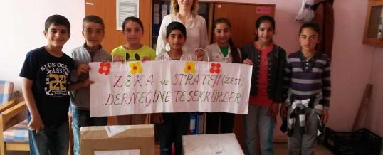 İzmir Menemen Gazi Ortaokulu Kitap Bağışı
