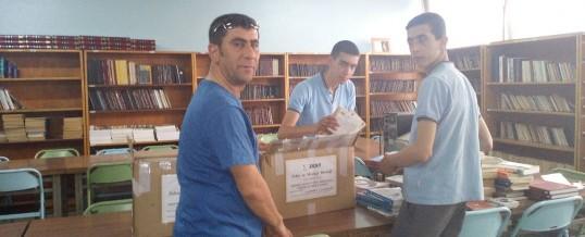 Gaziantep Şahinbey Mehmet Rüştü Uzel Mesleki ve Teknik Anadolu Lisesi Kitap Bağışı