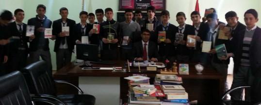 Ağrı Patnos Süphandağı Anadolu Lisesi Kitap Bağışı