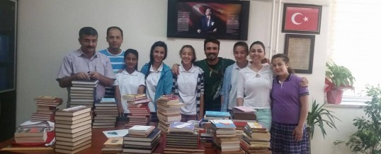 Gaziantep Şehitkamil Türkan–Mehmet Akcan Ortaokulu Kitap Bağışı