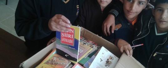 Adana Karataş Tuzla Ortaokulu Kitap Bağışı