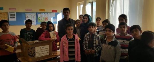Mardin Kızıltepe Yukarı Azıklı İlkokulu Kitap Bağışı