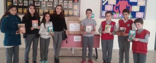 Bursa İznik Cumhuriyet Ortaokulu Kitap Bağışı