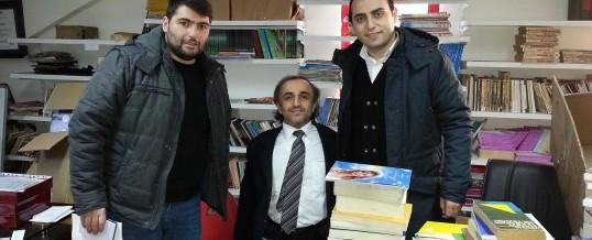 İstanbul Arnavutköy Halis Kutmangil Ortaokulu Kitap Bağışı
