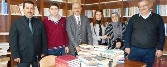 Samsun İlkadım Namık Kemal Anadolu Lisesi Kitap Bağışı