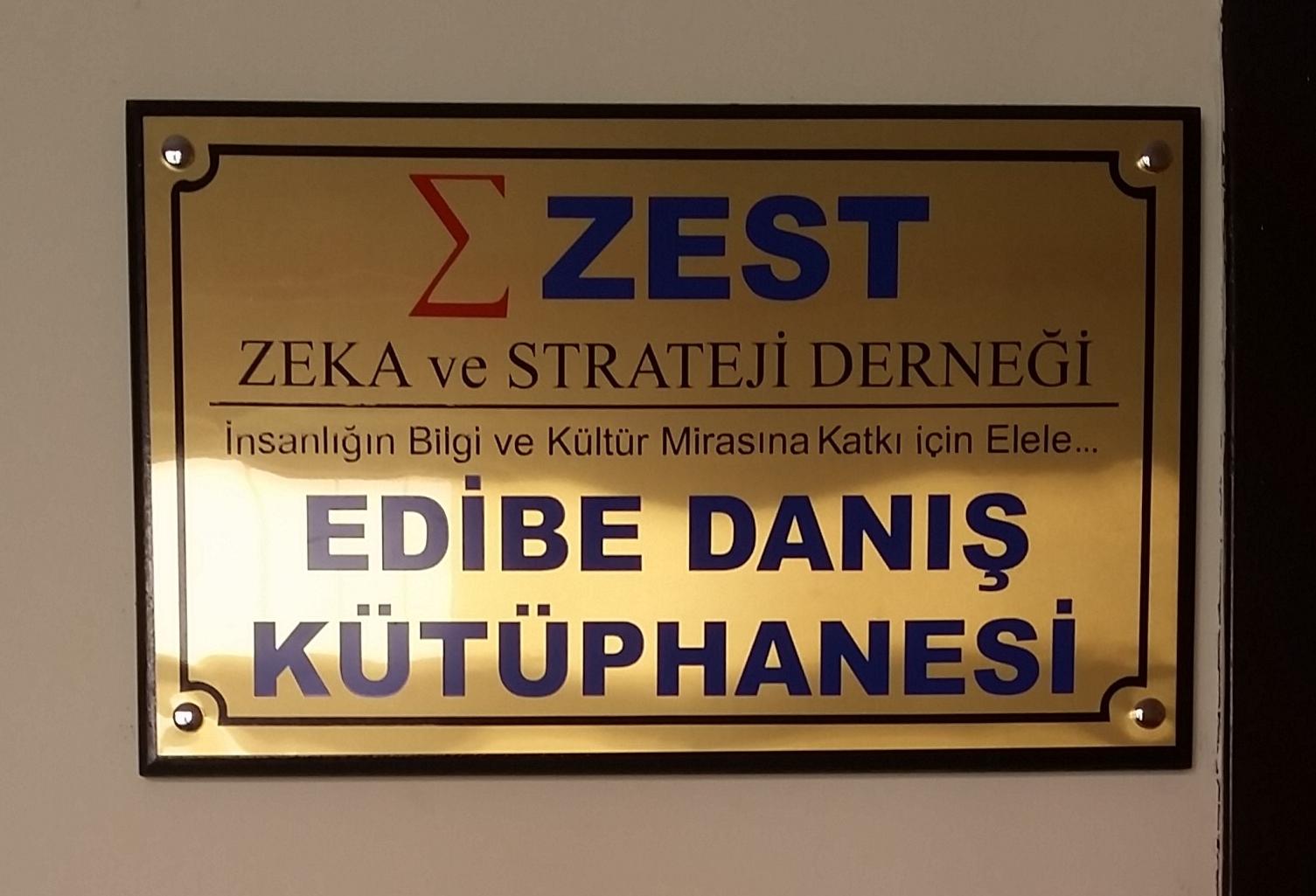 ZEST Edibe Danış Kütüphanesi