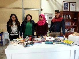 Antalya Kumluca Mesleki ve Teknik Eğitim Merkezi Kitap Bağışı