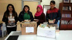 Antalya Kumluca Mesleki ve Teknik Eğitim Merkezi, Kitap Bağışı