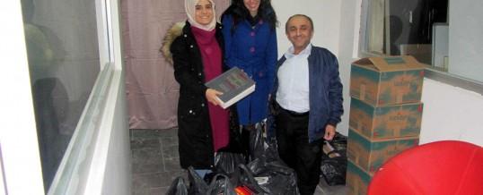 İstanbul Gaziosmanpaşa İkinci Mehmet Mesleki ve Teknik Anadolu Lisesi Kitap Bağışı