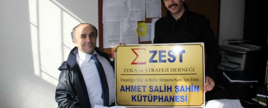 ZEST Ahmet Salih Şahin Kütüphanesi (3) (Malatya, Akçadağ, Aşağı Örükçü Köyü)