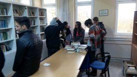 Manisa Saruhanlı Saruhanbey Mesleki ve Teknik Anadolu Lisesi, ZEST, Ahmet Salih Şahin Kütüphanesi, Kitap bağışı,