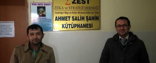 ZEST Ahmet Salih Şahin Kütüphanesi (2) (Manisa, Saruhanlı)