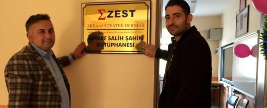 ZEST Ahmet Salih Şahin Kütüphanesi (1) (Ordu, İkizce)