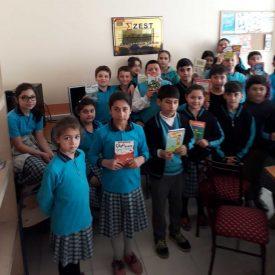 ZEST Ahmet Salih Şahin Kütüphanesi (1), ZEST Kütüphaneleri, Kütüphane, ZEST, Zeka ve Strateji Derneği, Kitap bağışı,