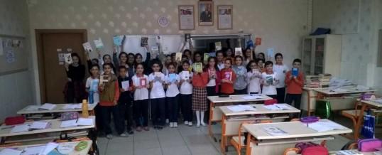 Osmaniye Mahmut Ali Kirmit Ortaokulu Kitap Bağışı