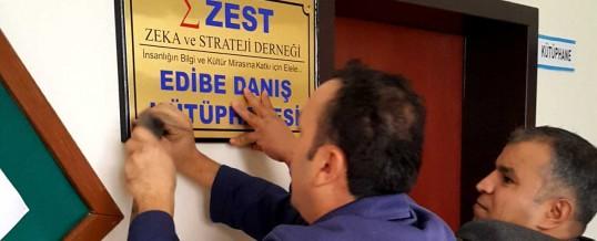 ZEST Edibe Danış Kütüphanesi (Zonguldak, Kilimli, Türkali Köyü)