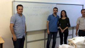 Zonguldak Bülent Ecevit Üniversitesi Madenciler İlkokulu, Kitap Bağışı