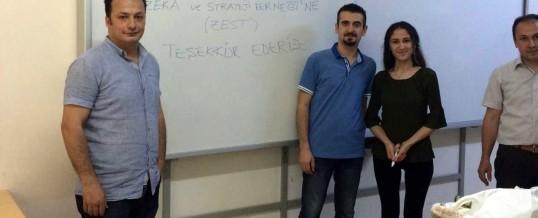 Zonguldak Bülent Ecevit Üniversitesi Madenciler İlkokulu Kitap Bağışı