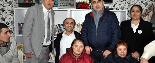 ZEST Erhan Bozan Kütüphanesi (İstanbul, Avcılar Engelliler Derneği)