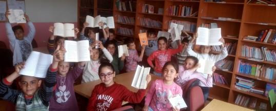 Aksaray Sarıyahşi Kızılırmak İlkokulu Kitap Bağışı