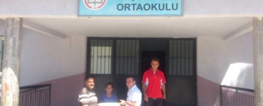 Aydın Germencik Neşetiye Köyü Ortaokulu Kitap Bağışı