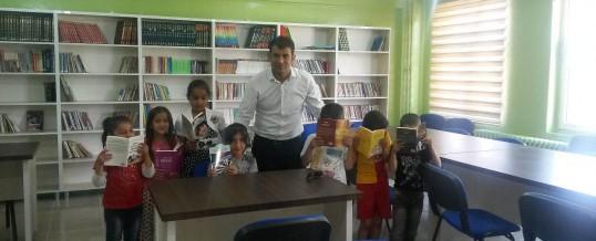 Hakkari Yüksekova Dilekli Köyü Mehmetçik Ortaokulu Kitap Bağışı