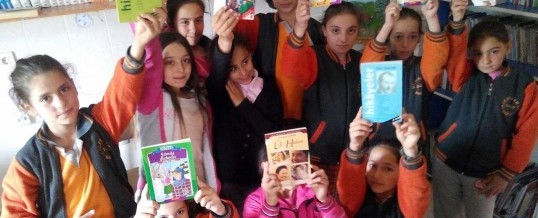 Samsun Bafra İkizpınar İlkokulu Kitap Bağışı