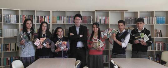 Ardahan Şehit Er Serhat Şanlı Ticaret Meslek Lisesi Kitap Bağışı