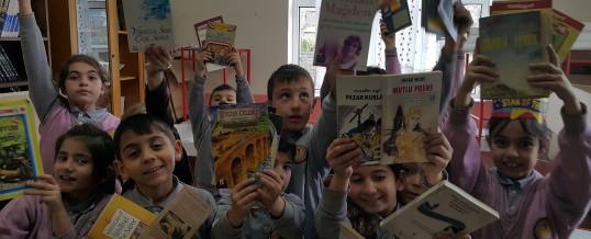 Zonguldak Kilimli Türkali İlköğretimokulu Kitap Bağışı