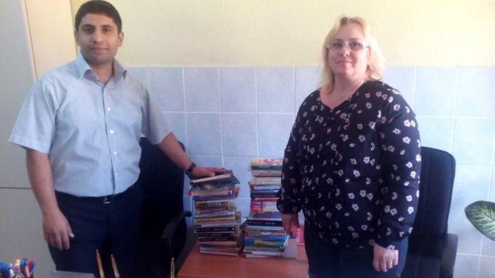 Muğla Ortaca Şehit Er Gürsel Çelik Ortaokulu, Kitap Bağışı